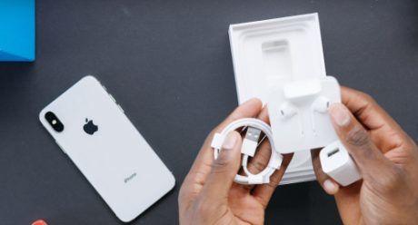Tai nghe iphone X chính hãng