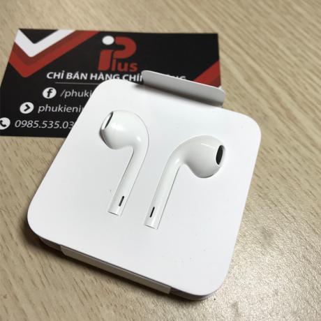 Tai nghe iphone7 chính hãng với đóng gói hộp giấy thay vì hộp nhựa
