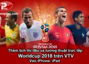 Thêm lịch thi đấu worldcup 2018 vào iphone ipad