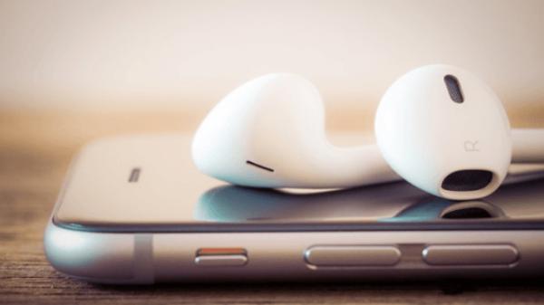 Chất lượng âm thanh tuyệt vời trên tai nghe iPhone 8