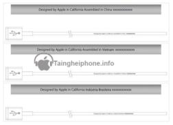 Tai nghe iphone Assembled in Vietnam