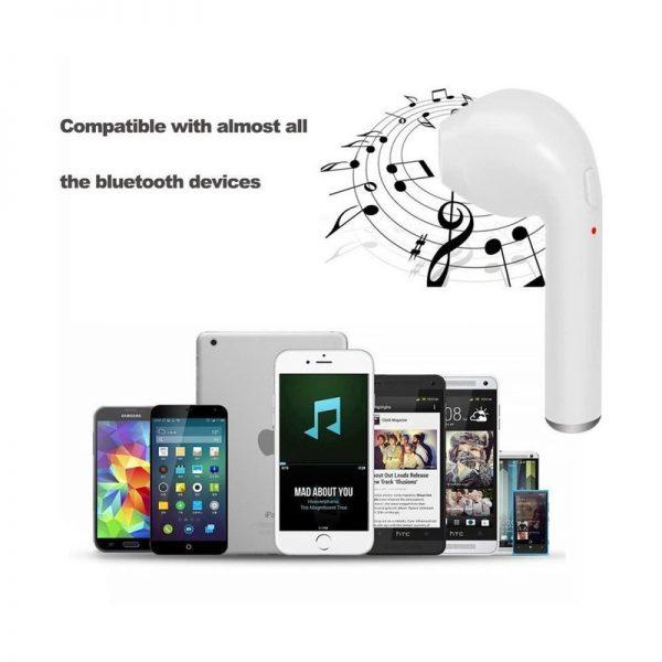 thiết kế nhỏ gọn sang trọng của tai nghe i7s
