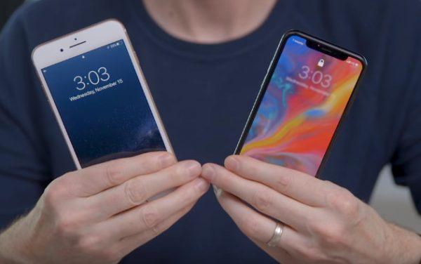 iPhone 8 Plus và X được dùng để đánh giá