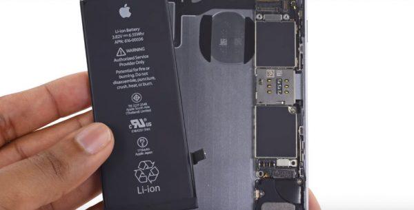 Có thêm chỗ cho pin iPhone dung lượng cao hơn